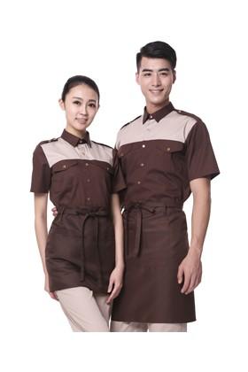 YU32-5CO U32-5 커피 면혼방 반팔셔츠 (공용)