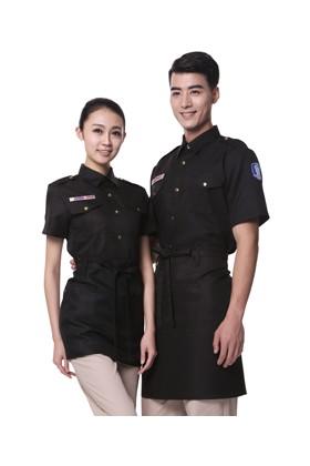 YU20-5BB 검정 BAR 반팔셔츠(공용)