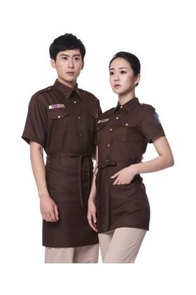 YU20-5CO 커피 BAR 반팔셔츠(공용)