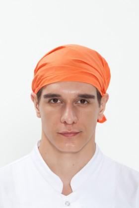 SOC-오렌지 단색두건