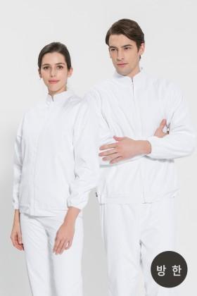 방한 위생복 파카 /화이트(FR-101)